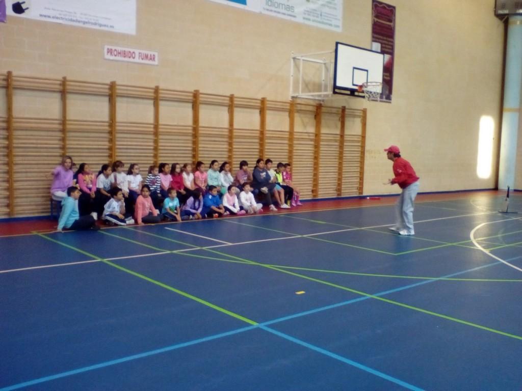 Taller Béisbol CEIP Pedro Velarde